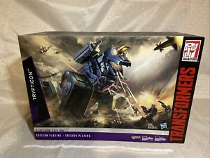 New Hasbro Transformers G1 Trypticon Platinum Edition US Based Seller