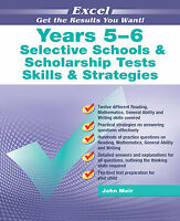 New Excel Selective Schools & Scholarship Skills and Strategies Test Year 5-6!GA