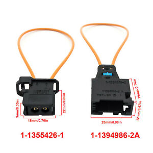 MOST Diagnostic Kit Fiber Optic Loop Bypass Male & Female Plug For BMW MERCEDES