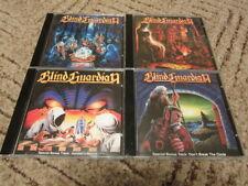 Blind Guardian 4CD Set Battalions Of Fear Follow Blind Somewhere Far Beyond Tale