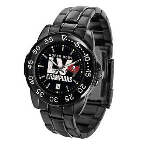 Tampa Bay Bucs Super Bowl LV Watch Buccaneers Game Time Fantom Wristwatch