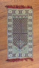 "Turkish Kids Children Prayer Mat Islamic Pray Rug Namaz Carpet 62x30cm(24X12"")"