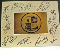10 x 8 inch mount personally signed by 13 of the Crawley Town 2014-15 squad.
