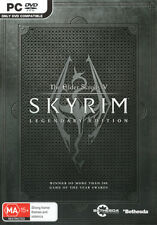 The Elder Scrolls V Skyrim Legendary Edition  - PC game - BRAND NEW