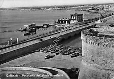Cartolina - Postcard - Gallipoli - Panorama - Ponte - 1955