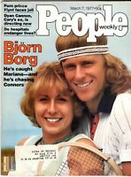 Bjorn Borg People Magazine March 7, 1977 w/Label