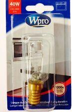 Wpro 40w Oven Bulb / Lamp E14 T29