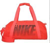 Nike Bag Gym Club Bright Crimson Women Lite Performance Neon Orange Sport bag