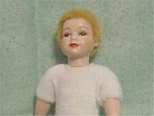 Dollhouse Boy Doll Undressed HOXKK03 Heidi Ott Blond Flocked Hair Miniature