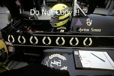 Ayrton Senna JPS Lotus 98T British Grand Prix 1986 Photograph 1