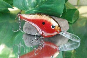 Joe's Custom Baits - Custom Painted Crankbait Rapala DT10 - Red Shad