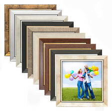 quadratische bilderrahmen rahmenlose deko bilderrahmen aus holz g nstig kaufen ebay. Black Bedroom Furniture Sets. Home Design Ideas
