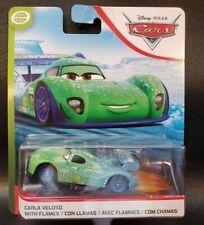 CARS 2 - CARLA VELOSO with FLAMES - Mattel Disney Pixar