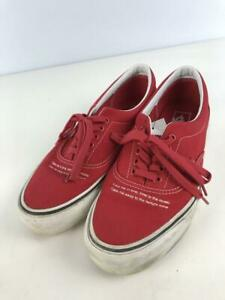 Vans  Us9.5 Red Cotton Era  Red Size 9.5 Fashion sneakers 2737 From Japan