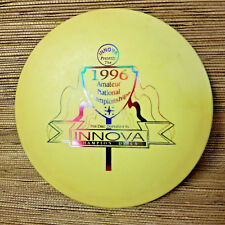 INNOVA 1996 DX Gazelle ONTARIO Yellow Disc Golf Driver OOP 175g Collectible