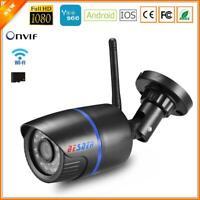 BESDER Yoosee 1080P FHD Wifi IP Bullet Camera ONVIF CCTV Surveillance IR Cut