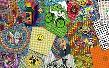 Fifty 50 BLOTTER ART Bulk Wholesale deal best price ever perforated paper art