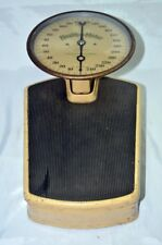 VINTAGE ANTIQUE 1934  'HEALTH-O-METER' , USA, PERSONAL WEIGHING SCALE