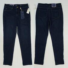 Charter Club Womens Jeans Tummy Control Boyfriend Jeans Greenwich Wash 4 $64