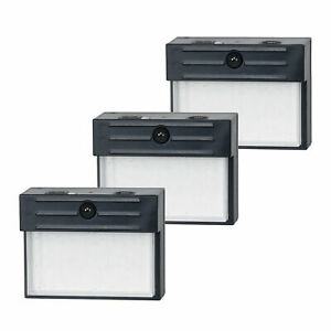Honeywell Battery LED Indoor Outdoor Motion Sensor Wall Security Lights (3 Pack)