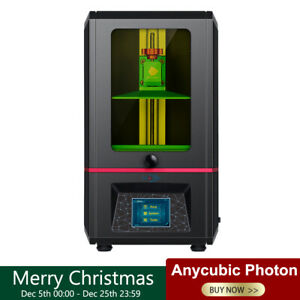 "ANYCUBIC SLA/LCD PHOTON Stampante 3D Resina UV Light-Cure 2.8""TFT 3D Printer EU"