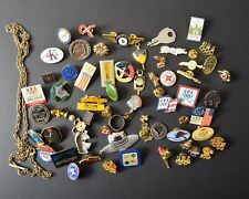 Junk Draw Lot of Pins, Findings, Collectibles, Wearable, Crafting