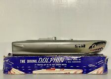 New listing 1947 Toy Die-Cast Submarine Diving Dolphin Us-52 A.C.T. Inc Detroit Military War