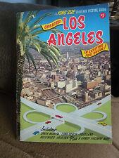 1964 Los Angeles Souvenir Picture Guide Chavez Ravine Disneyland Hollywood.