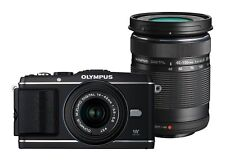 Olympus Pen e-p3 Kit with 14-42mm and 40-150mm Black