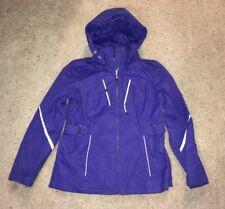 cde8d318e3f Women s ZeroXposur Purple Double Zip Up Coat   Jacket Size Medium!