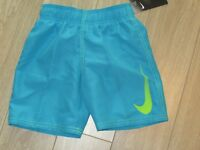 Nike Boys Swim Board Shorts Swimsuit Blue 5