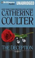 THE DECEPTION unabridged audio book on CD by CATHERINE COULTER - Brand New!