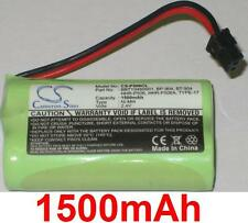 Battery 1500mAh type BBTY0460001 BP-904 BT-904 For Uniden SS E25