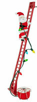 Wondershop Animated Indoor Climbing Santa with Lights  #2