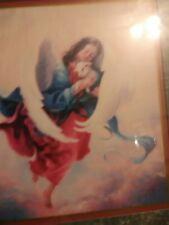 Angel with Lamb print