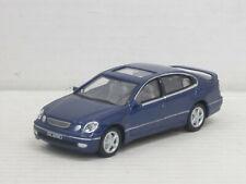 Lexus GS 300 in dunkelblaumetallic, ohne OVP, Hongwell/Cararama, 1:43