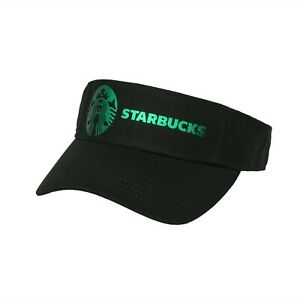 Soft Metallic Foil Design Starbucks Visor