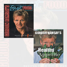 Healthy Appetite Collection 2 Books Set Pack By Gordon Ramsay (Fast Food) NEW UK