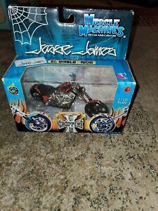 Muscle machines 1:18  West Coast Chopper's Jesse James El Diablo/Ricio made 2003