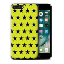 Étuis, housses et coques jaunes iPhone 7 en silicone, caoutchouc, gel pour téléphone mobile et assistant personnel (PDA)