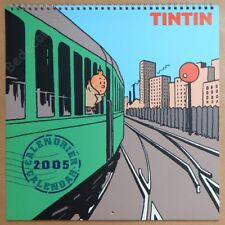 HERGE Calendrier Tintin 2005 30x30 cm