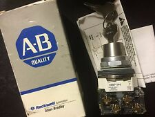 Allen-Bradley 800t-j44a 3 Position Maintained Selector Switch Cylinder Lock