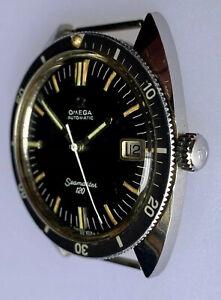Vintage diver 37mm Omega Seamaster 120 166.027