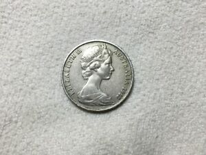 1968 20c RARE Vintage Australian Coin - Circulated - 20 Cents