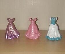 Disney Princess Magic Clip Lot Of Three (3) Dresses