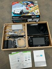 Nintendo Wii U Mario Kart 8 Deluxe Set In box NEAR CIB Tested gamepad+console+++