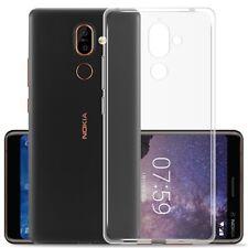 For Nokia 8 / 6 / 5 / 3 / 3.1 / 2 Shockproof Clear Slim Back Case TPU Gel Cover