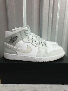 Nike Air Jordan 1 Mid Camo Men's UK 13 EUR 48.5 (DC9035 100)