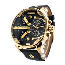DIESEL DZ7371 Mr. Daddy 2.0 Black Dial Quartz Chronograph Steel Men's Watch