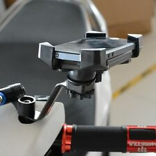 New Universal Motorcycle 360° Rearview Mirror Holder Bracket Mount For Phone GPS